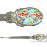 Colorful Mosaic  Letter Openers Front