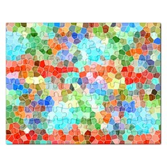Colorful Mosaic  Rectangular Jigsaw Puzzl
