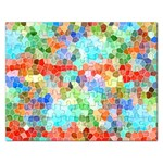 Colorful Mosaic  Rectangular Jigsaw Puzzl Front