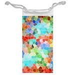 Colorful Mosaic  Jewelry Bags Back