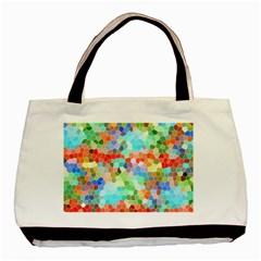 Colorful Mosaic  Basic Tote Bag