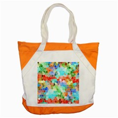 Colorful Mosaic  Accent Tote Bag