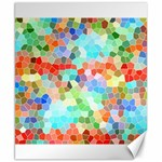 Colorful Mosaic  Canvas 8  x 10  10.02 x8 Canvas - 1