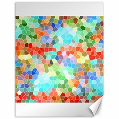 Colorful Mosaic  Canvas 12  x 16