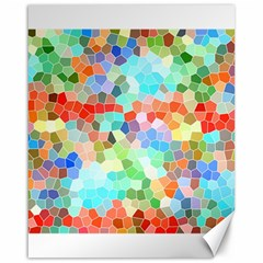 Colorful Mosaic  Canvas 16  X 20