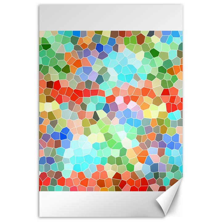 Colorful Mosaic  Canvas 20  x 30