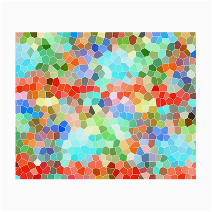 Colorful Mosaic  Small Glasses Cloth (2-Side)