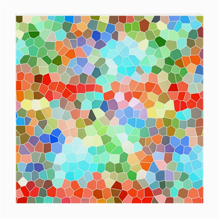 Colorful Mosaic  Medium Glasses Cloth