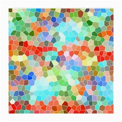 Colorful Mosaic  Medium Glasses Cloth (2 Side)