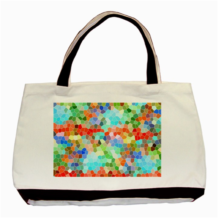 Colorful Mosaic  Basic Tote Bag (Two Sides)