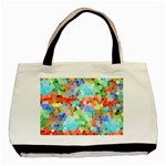 Colorful Mosaic  Basic Tote Bag (Two Sides) Back