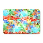 Colorful Mosaic  Small Doormat  24 x16 Door Mat - 1