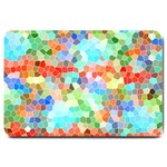 Colorful Mosaic  Large Doormat  30 x20 Door Mat - 1