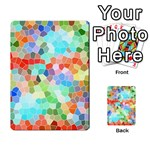 Colorful Mosaic  Multi-purpose Cards (Rectangle)  Back 36