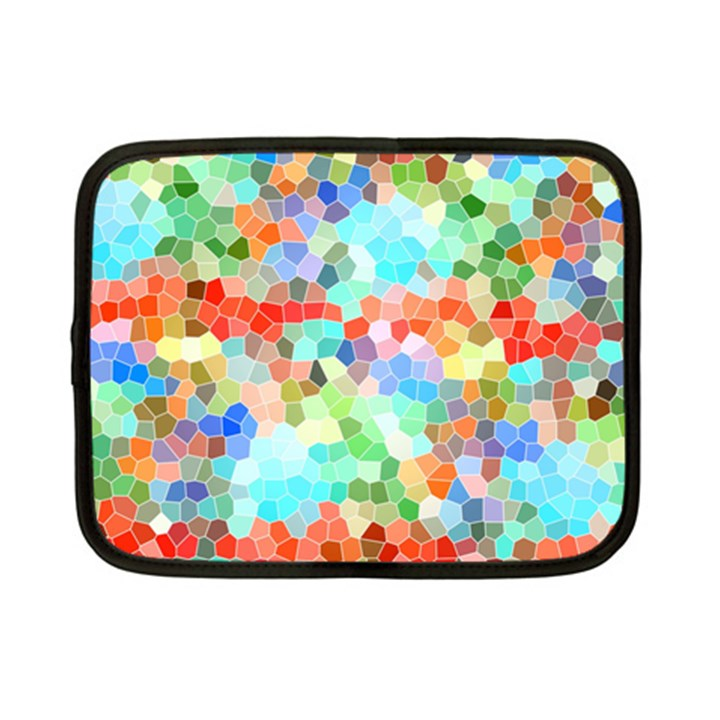 Colorful Mosaic  Netbook Case (Small)