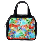 Colorful Mosaic  Classic Handbags (One Side) Front