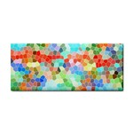 Colorful Mosaic  Hand Towel Front
