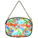 Colorful Mosaic  Chain Purses (One Side)  Front
