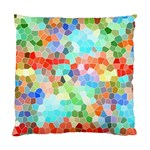 Colorful Mosaic  Standard Cushion Case (Two Sides) Back