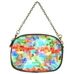 Colorful Mosaic  Chain Purses (Two Sides)  Back