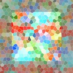 Colorful Mosaic  Mini Canvas 4  x 4  4  x 4  x 0.875  Stretched Canvas