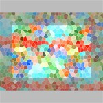 Colorful Mosaic  Mini Canvas 6  x 4  6  x 4  x 0.875  Stretched Canvas