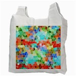 Colorful Mosaic  Recycle Bag (Two Side)  Back