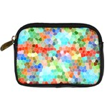 Colorful Mosaic  Digital Camera Cases Front