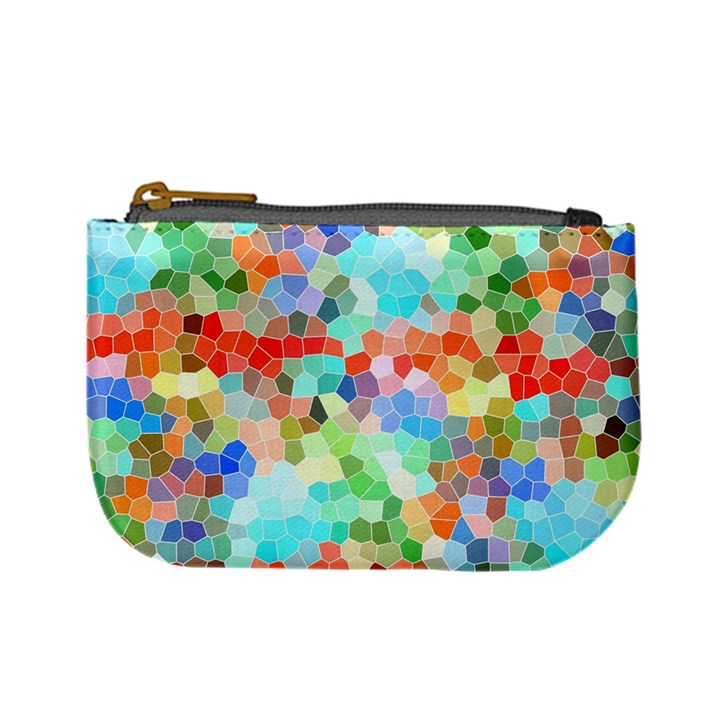 Colorful Mosaic  Mini Coin Purses