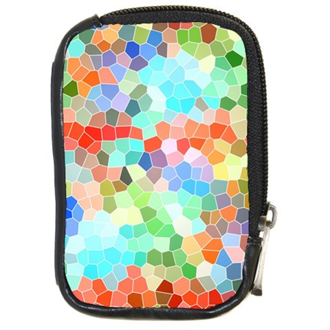 Colorful Mosaic  Compact Camera Cases