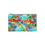 Colorful Mosaic  Cosmetic Bag (Small)  Front
