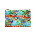Colorful Mosaic  Cosmetic Bag (Medium)  Front