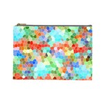 Colorful Mosaic  Cosmetic Bag (Large)  Front