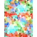 Colorful Mosaic  Large Memo Pads 4.125 x5.5  Memopad