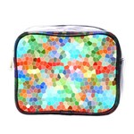 Colorful Mosaic  Mini Toiletries Bags Front
