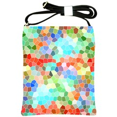 Colorful Mosaic  Shoulder Sling Bags