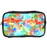 Colorful Mosaic  Toiletries Bags 2-Side Back