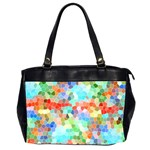 Colorful Mosaic  Office Handbags (2 Sides)  Front