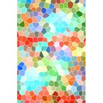 Colorful Mosaic  5.5  x 8.5  Notebooks Front Cover Inside