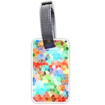 Colorful Mosaic  Luggage Tags (Two Sides) Back