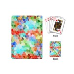 Colorful Mosaic  Playing Cards (Mini)  Back
