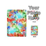 Colorful Mosaic  Playing Cards 54 (Mini)  Front - Diamond3