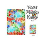 Colorful Mosaic  Playing Cards 54 (Mini)  Front - Diamond4