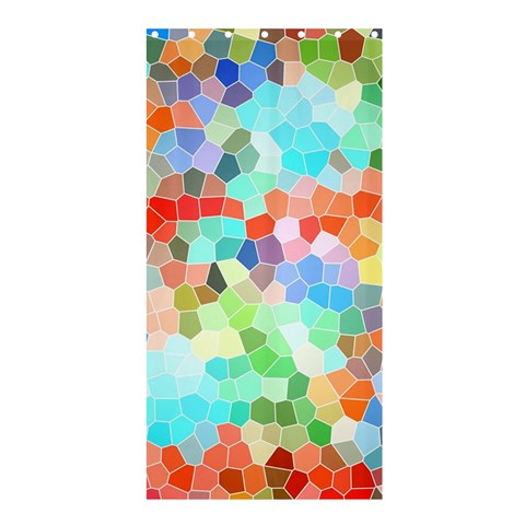Colorful Mosaic  Shower Curtain 36  x 72  (Stall)