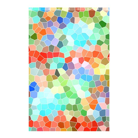Colorful Mosaic  Shower Curtain 48  x 72  (Small)