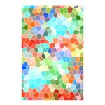 Colorful Mosaic  Shower Curtain 48  x 72  (Small)  48 x72 Curtain