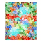 Colorful Mosaic  Shower Curtain 60  x 72  (Medium)  54.25 x65.71 Curtain