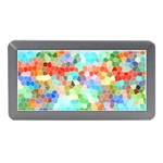 Colorful Mosaic  Memory Card Reader (Mini) Front