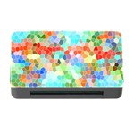 Colorful Mosaic  Memory Card Reader with CF Front