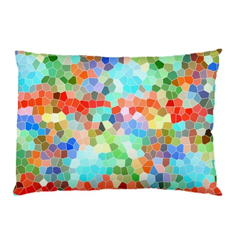 Colorful Mosaic  Pillow Case (Two Sides)